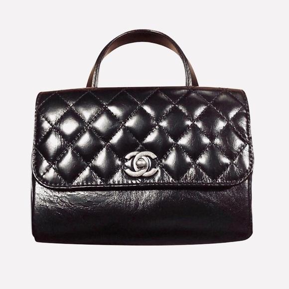 d789e46ade2d CHANEL Bags | New Top Handle Mini Flap Bag Rhw | Poshmark